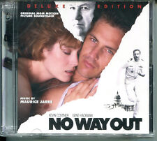 Maurice Jarre NO WAY OUT DELUXE 2-Disc OOP Limited Edition Soundtrack SEALED CD