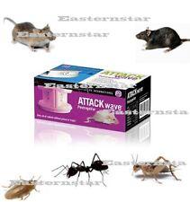 Attack Wave Pest Repeller Mice Rat Cockroach Flea Cricket Ants Bug Rodent P7816
