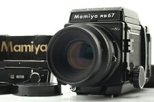 【ALMOST UNUSED】Mamiya RB67 Pro SD w/ K/L 127mm f/ 3.5 L 120 Film Back from JAPAN