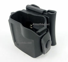 New Rotates 360 In Black Tactical Clip For G17,19,22,23 MOLLE / Belt Holster