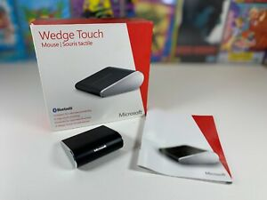 Microsoft Wedge Touch Mouse Ultra Compact - 4 Way Touch Sensitive Scrolling