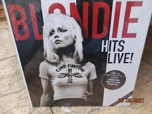 LP Blondie - Hits Live ( New & sealed ) vinyl record