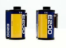Kodak 35mm Ektachrome Transparency Film E200 2 rolls