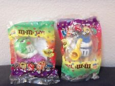 Burger King fast food lot of 2 mip M&M's toys issued in 1990