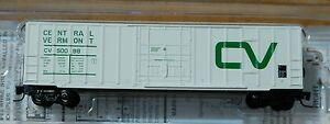 Micro-Trains Line Z #51100062 Central Vermont 50' Rib Side Boxcar Rd #50098