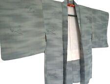PURE SILK HAORI VINTAGE JAPANESE KIMONO #73