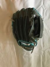 FRANKLIN BLUE AND GRAY BALL GLOVE