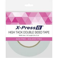 "Copic X-PRESS IT Double Sided High Tack Double Sided Tissue Tape 1/8"" Wide"
