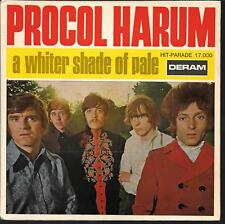 """45 TOURS / 7"""" SINGLE--PROCOL HARUM--A WHITER SHADE OF PALE--1967"""