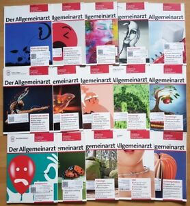 15x Der Allgemeinarzt 2019 Hausarzt Allgemeinmedizin Zeitschrift Gesundheit