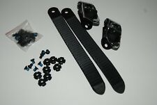 Special snowboard kit, buckles, straps, hardware