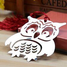 Metal Owl Bookmark Page Holder Book Binder Clips Kawaii Stationery Hot Sale