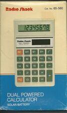 Vintage Radio Shack Solar Battery EC-414 Calculator Cat # 65-560 NEW, BOX Tested