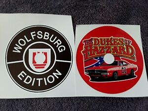 Car Wall Clocks Made to your Design The Dukes of Hazzard,Wolfsburg Edition Etc
