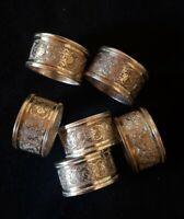 234 Gramm Silber 6×Serviettenringe Persisch Islamische Kunst Antik orientalisch