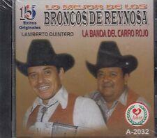 Los Broncos de Reynosa lo Mejor 15 exitos CD New Nuevo Sealed