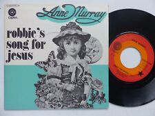 ANNE MURRAY Robbie 's song for Jesus 2C006 81190 Pressage France RRR