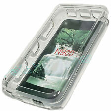 Crystal Case Handy Protect Cover Hülle  + Displayschutzfolie für Nokia N900