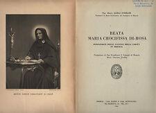 beata maria crocifissa di-rosa fondatrice delle ancelle della carita in brescia