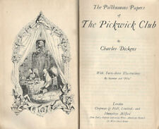 The Posthumous Papers of The Pickwick Club. . S. D.. .