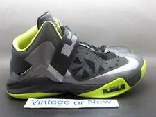 reputable site 43fa4 f04b1 Nike Zoom LeBron Soldier VI 6 Cool Grey Black Volt sz 10