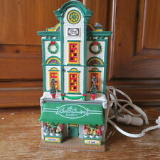 Dept 56 Snow Village Secret Garden Florist Retired Christmas Lighted 54885
