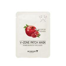 [SkinFood] Pomegranate Collagen V-Zone Patch Mask 2 packs