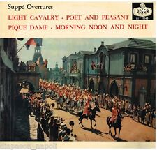 Suppé: Overtures / Solti, Vienna Philarmonic - LP Decca LXT 5548