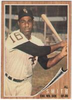 1962  Topps  #410      AL SMITH    CHICAGO WHITE SOX       EX-MT+ to NM