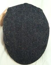 Ralph Lauren Black Brown Herringbone Men's Cap Hat Size Small to Medium
