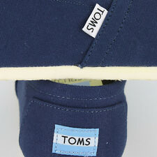 Toms Classic Canvas Navy 1002A07 Mens US size 8, UK 7