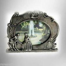 Scene in motion pewter table lamp - Colonial Fountain - ca 1931  FREE SHIPPING