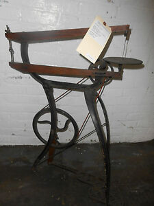 Antique CRICKET Foot Operated Reciprocating Scroll Saw-=NICE!