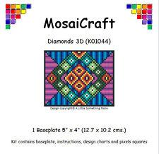 MosaiCraft Pixel Craft Mosaic Art Kit 'Diamond 3D' Pixelhobby