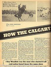 How The Calgary Stampede Began - Guy Weadick*+Hoot Gibson*,Mayor George Webster*