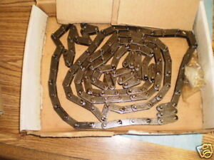 US Tsubaki Model: C2040 RIV 2L/D-1 10 Foot Chain.  New Old Stock  <