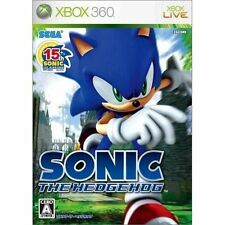 UsedGame Xbox360 Sonic the Hedgehog [Japan Import] FreeShipping complete
