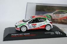 Ixo Presse 1/43 - Peugeot 207 S2000 Istanbul Rally 2007