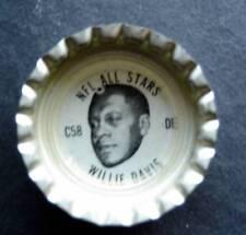 1960's TAB Bottle Cap Football NFL All Stars Willie Davis