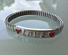 Avon Lots of Love Stretch Bracelet Love Letters NEVER WORN, NEW IN BOX, MINT