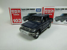 TAKARA TOMICA  #103 TOYOTA LAND CRUISER,1~2pcs: No Track,3~28pcs: With Track