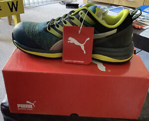Puma charge green Low Green S1P HRO SRC Safety Trainers