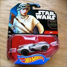 Disney STAR WARS Hot Wheels REY #23 diecast Mattel sports car The Force Awakens
