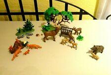 Playmobil Spielset Wald & Waldtiere Tiere Fuchs Rehe Hirsch Dachs Wildschwein