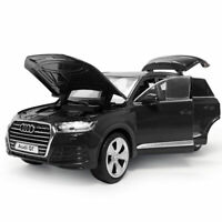 1:32 Audi Q7 SUV Model Car Diecast Gift Toy Vehicle Kids Sound Black Collection