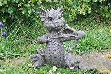 Amor Gartendrache Drachen Figur Garten Drachenfiguren Liebe Dragon Figuren Deko