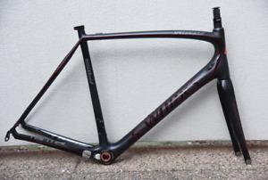 2013 Specialized S-Works Tarmac SL4 58cm XL Carbon Road Bike Frame Set Repaired