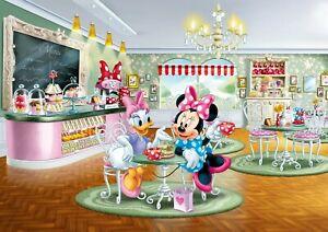 Mädchen Zimmer Fototapete Wandtapete 358x254cm Disney Charaktere Minnie Mouse