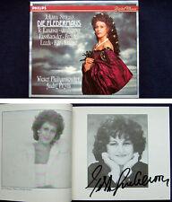 Edita GRUBEROVA Signiert J. STRAUSS DIE FLEDERMAUS Kanawa Fassbaender PREVIN 2CD