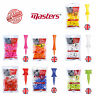 Masters Golf Company Plastic Graduated Golf Tees - Castle Tees